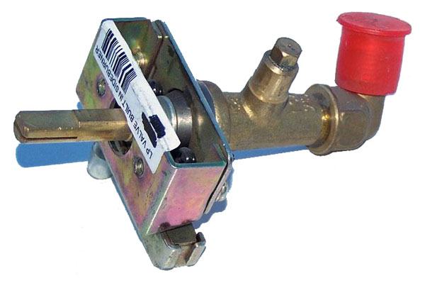 Bull Single Side Burner Valve Propane Valve Natural