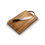 Napoleon Premium Cutting Board & Knife Set