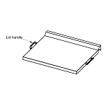 Blaze Replacement Griddle Lid Handle