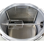 Blaze Kamado Easy Light Indirect Cooking System