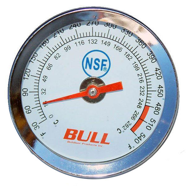 Bull Temperature Gauge Know Grilling Temp Instantly