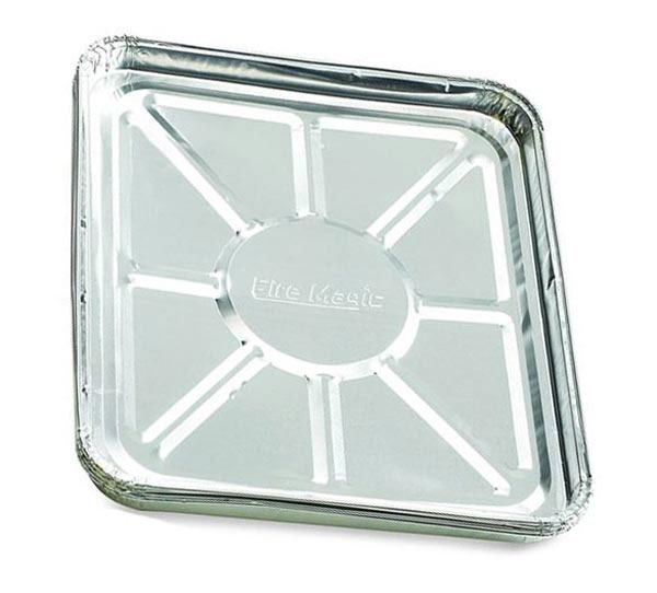 Fire Magic Foil Drip Tray Liners Twelve 4 Packs 3557 12