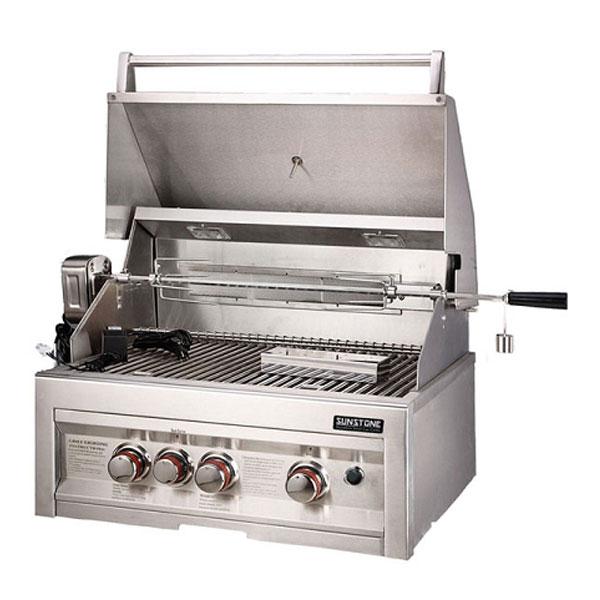 Sunstone 28 Quot 3 Burner Grill Rotisserie Kit