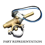 Fire Magic Valve for SideBurners, Double Side Burners & Back Burners - 3008-11