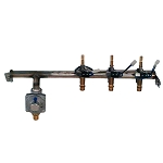 Fire Magic Regal I Valve Manifold Without Back Burner