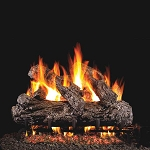 Real Fyre Rustic Oak Log Set (Logs Only)