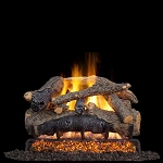 Real Fyre Charred Colonial Oak Log Set (Logs Only)
