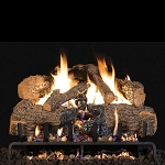 Real Fyre Charred Angel Oak Log Set (Logs Only - Burner Not Included)