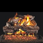 Real Fyre Charred Cedar Log Set (Logs Only - Burner Not Included)