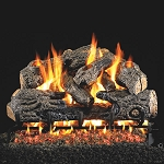 Real Fyre Charred Northern Oak Log Set (Logs Only - Burner Not Included)
