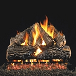 Real Fyre Charred Oak Log Set (Logs Only - Burner Not Included)