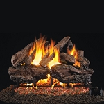 Real Fyre Charred Red Oak Log Set (Logs Only - Burner Not Included)