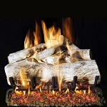 Real Fyre Mountain Birch Log Set (Logs Only)