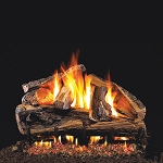 Real Fyre Rugged Split Oak Log Set (Logs Only)