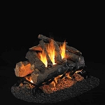 Real Fyre American Oak See-Thru Series Log Set (Logs Only - Burner Not Included)