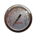 Blaze Temperature Gauge W/Numbers