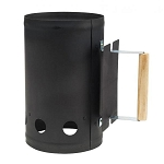 Bull Black Powder Coated Charcoal Chimney Starter