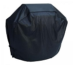 Allegra Black Vinyl Freestanding Grill Covers