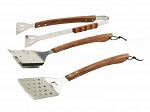 Bull Vineyard Rosewood 3PC BBQ Tool Set