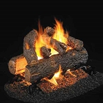 Real Fyre Golden Oak Designer Plus See-Thru Series Log Set (Logs Only - Burner Not Included)
