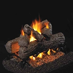 Real Fyre Golden Oak See-Thru Series Log Set (Logs Only - Burner Not Included)