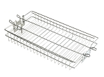 Fire Magic Stainless Steel Flat Rotisserie Basket - 3618