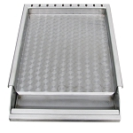 Sunstone 304 Stainless Steel Griddle with Removable Tray