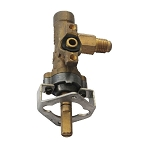 SunStone Single Side Burner Valve (LP/NG)