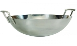 Bull Traditional Stainless Steel Wok