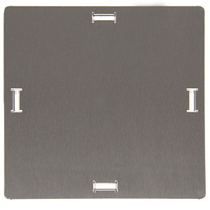 Blaze Stainless Steel LP Tank Hole Cover For Grill Carts
