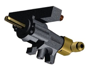 "Cal Flame 1/2"" Natural Gas Infrared Burner Control Valve"